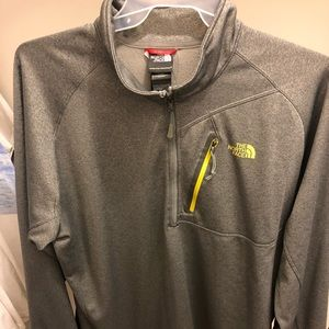 XXL NorthFace Quarter-Zip Sweater